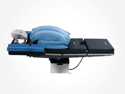 wilson plus radiolucent frame model 5319g on general surgery table - Wilson Frame