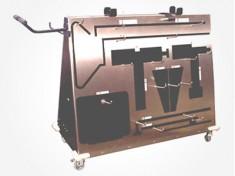 5859 Optional Orthopedic Equipment Cart for the 5855 Ortho Trauma Modular Table Top