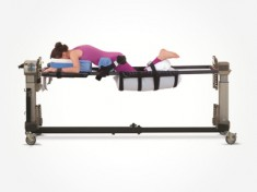 Prone with Leg Sling