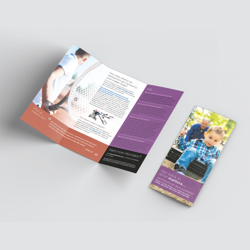 Patient Marketing Kit for Hip Replacements