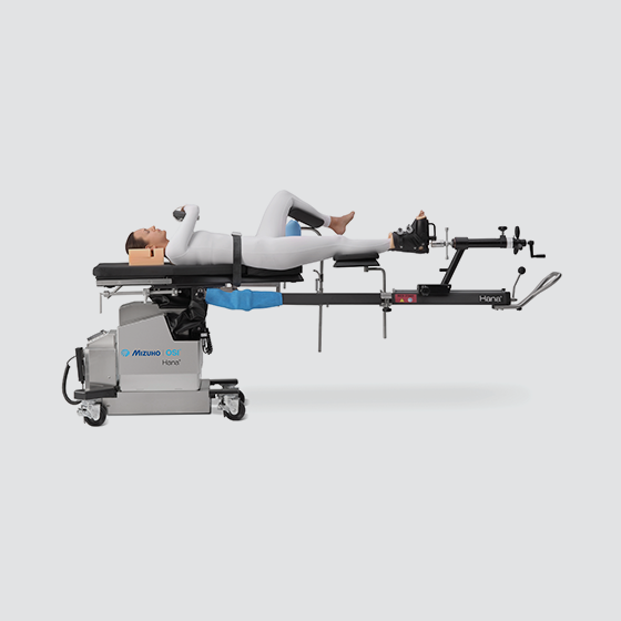 Hana® - Hip Pinning: Supine with Unilateral Skin Traction ...