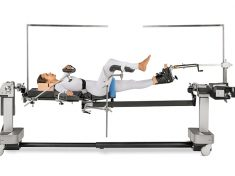 Hip Pinning: Supine with Unilateral Skin Traction