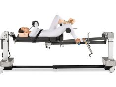 IM Tibial Nailing: Supine with Unilateral Skin Traction (using Auxiliary Leg Spar with Tibia Well Leg Support)